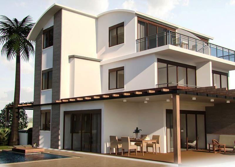 Neubauprojekt in Belek Doppelhausvilla - Einzelvillen