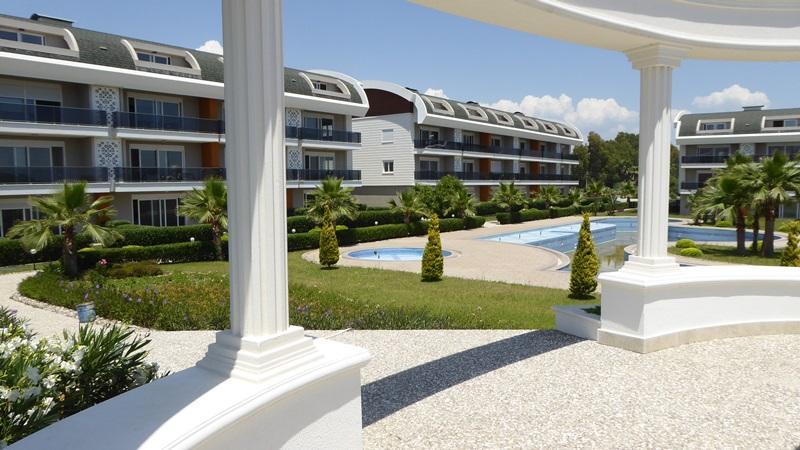 Luxus, Ruhe, Qualität im Zentrum von Side - Großzügige Anlage - Neubauprojekt