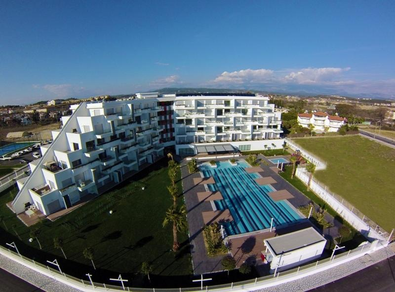 5-Sterne Wohnkomplex Side Evrenseki günstigste 4 Zimmer Maisonetten Wohnung aktuell