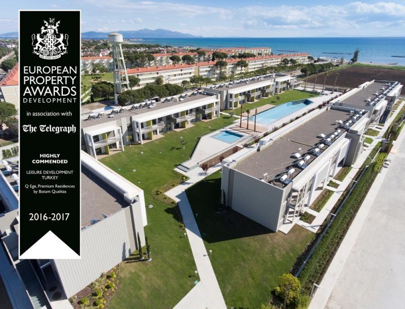 Traumhafte Anlage direkt am Strand Ayvaliks - 3 Zimmer Garten Eckwohnung von führenden Bauträger !