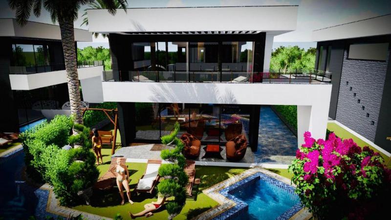 Neubau Villa in einer kleinen Wohnsiedlung mit Wellnessbereich - Top Qualität