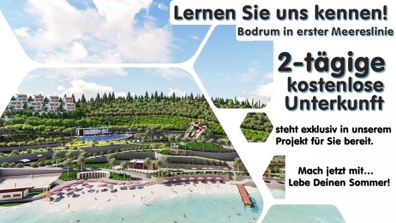0% Finanzierung über 60 Monate in Bodrum mit 25 % Anzahlung - Wohnungen und Villen
