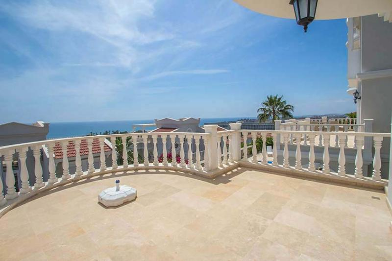 Strandnahes wohnen, ein empor hebender Stern in Alanya Konakli - Luxus Villa
