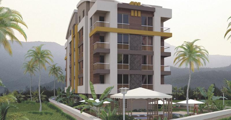 Maisonetten Wohnung mit 4 Zimmern - 3 Badezimmern und Sauna in Top Lage am Hafen von Konyaalti