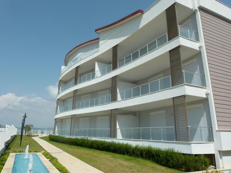 Penthouse 3 Zimmer Wohnung mit Blick über Side und dem Meer