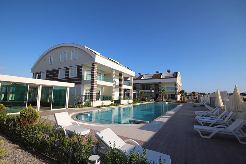 Schöne 3 Zimmer Wohnung in Evrenseki 800 m vom Meer entfernt - günstigste Einheit im Komplex