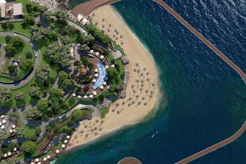 Neubauprojekt Luxus Residenz in Bodrum Yalikavak