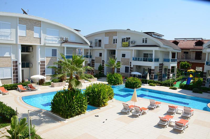 Schöne 3 Zimmer Wohnung in Evrenseki 700m vom Meer entfernt