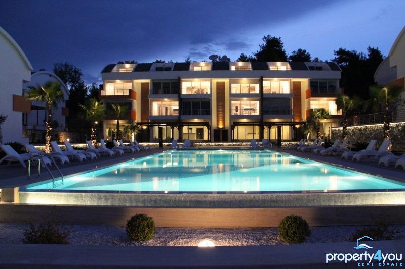 Luxuriöse Anlage in ruhiger Lage von Ilica oberhalb von Kumköy