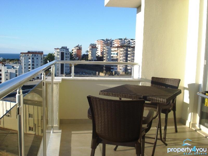 Alanya Avsallar Mietwohnung Resort Orion 5 mit Meerblick